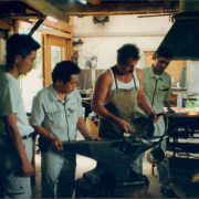 Japaner zu Besuch bei Familie Schweier