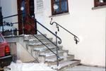Treppengeländer aus Schmiedebronze